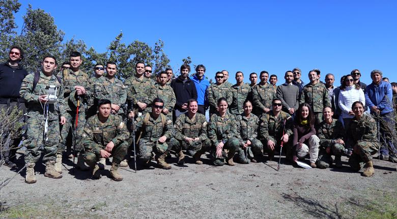 Firma de convenio entre la Municipalidad y la Escuela de los Servicios del Ejército de Chile
