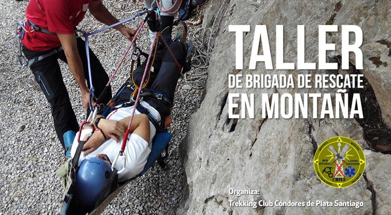 CONVOCATORIA – Taller de Brigada de Rescate en Montaña