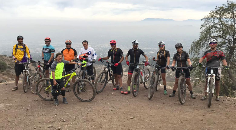 Jornada de pedaleo en Parque Mahuida (30 de marzo de 2019)