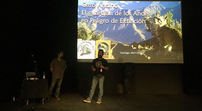 """Presentación """"Buscando el gato andino"""" (6 y 13 de abril 2019)"""