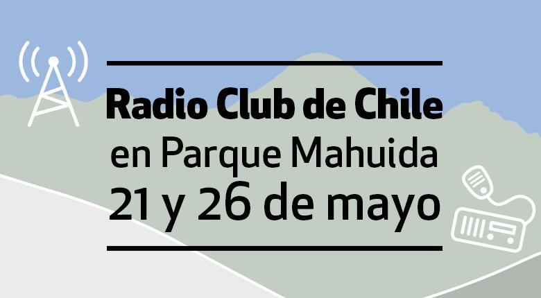 Radio Club de Chile en Parque Mahuida