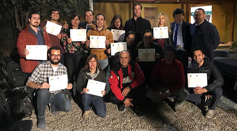 Certificación Brigada de Rescate Cóndor (2 de mayo 2019)