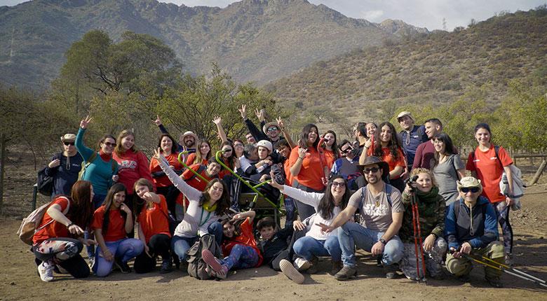 Trekking inclusivo en Parque Mahuida – Senderismo sin límites (22 de junio 2019)
