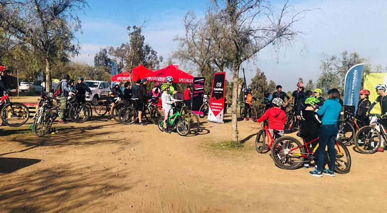 Gran cicletada familiar en Parque Mahuida (28 de julio 2019)