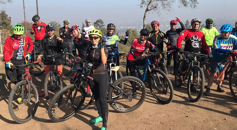 Cicletada MTB en Parque Mahuida (13 de julio 2019)