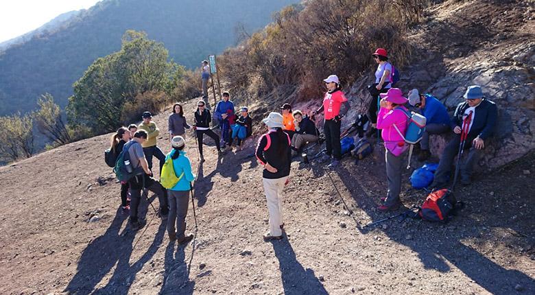 Trekking Educativo Parque Mahuida (9 de junio 2019)