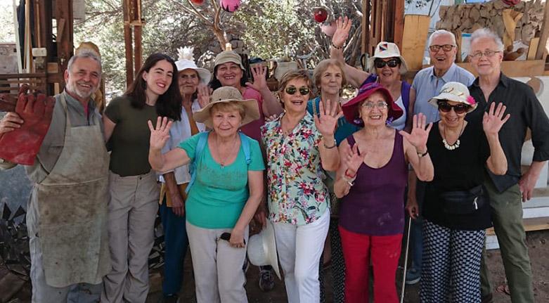 Mujeres de La Reina (MUDELAR), visitan el Parque Mahuida (21 de noviembre 2019)